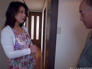 Japanese Wifey with Big Tits Gets Home to Get Fucked