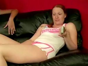 Bad Lady Gets Disciplined During a Lesbo Spanking