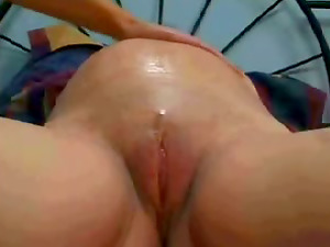 Preggo Bitch Loves In Nasty Lezzy Scene On Her Big Couch