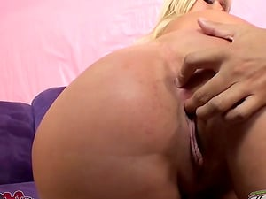 Julie Cash gives a tit-fucking and gets her snatch drilled from behind