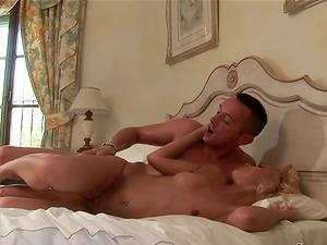 Petite Sylvia Louren gets fucked nice and deep in a bedroom