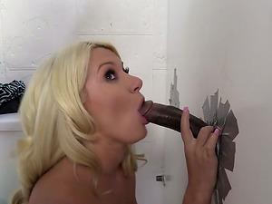 Hot Blonde Stunner Gets Demolished Her Smooth-shaven Cunt By Fat Man sausage