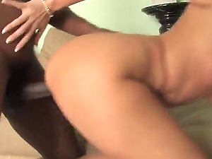 Debbie Dial gets SPLIT in Two by a Gigantic THICK BLACK Man sausage!