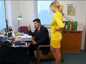 Assistant Spoils Stressed Manager