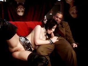 Burlesque hook-up night with gorgeous Rita Neri