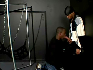 Two Black guys suck dicks and drill each others culos