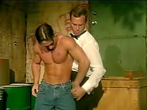 Sizzling Fag Fellow With A Fabulous Assets Getting His Big Dick Sucked In An Alleyway