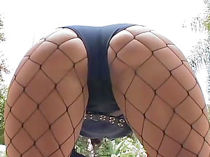 Hard-core ass-fuck fuck-a-thon scene with engaging black-haired Ricki Milky