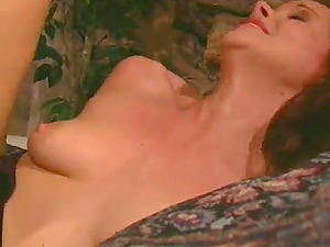 Sexy Sandy-haired Gets Spunk In Her Mouth From A Big Black Penis
