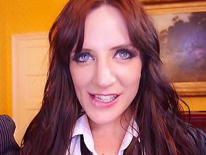 Scottish bitch Samantha Bentley gets her butt pounded hard
