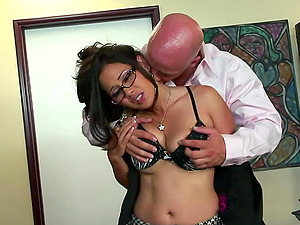 Sexy, Asian Pornographic star With Lengthy, Dark Hair Loving A Xxx, Cowgirl Style Fuck