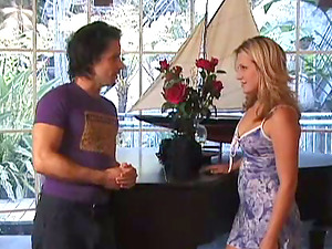 Cowgirl Gets Seduced And Drilled Gonzo Missionary