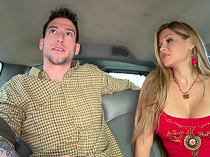 Superb faggot hump in the backseat of a car as you hear them groan