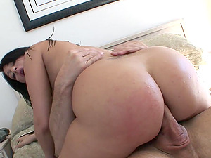 Brown-haired Cowgirl Hotie Gets A Xxx Ass-fuck Thrusting