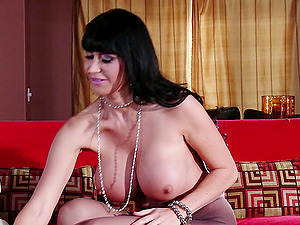 Gorgeous brown-haired Eva Karera luvs rear end style fuck-a-thon with Will Powers