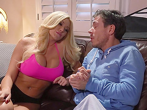 Summer Brielle blows and gets her snatch fucked remarcably well