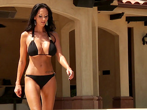 Gorgeous Ava Addams gets her bootie unforgettably fucked outdoors