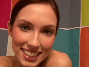 Pleasant Solo Model In Undies Showcasing Her Hot Bootie