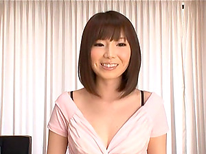 Sexy Japanese Stunner In Uber-cute Undies Shows Her Brilliant Figure