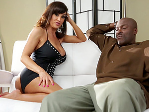 Conversing with the smoking hot cougar Lisa Ann