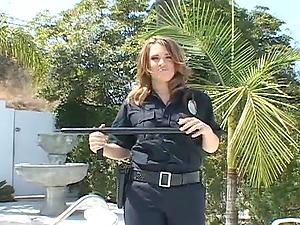 Hot Security Personnel In Uniform Deepthroats A Dick Deepthroat