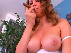 Big Tits Beauty Bj's A Giant Man sausage For A Hard-core Blow-job