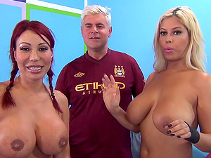 Dickblower champ versus the spanish doll in hard-core group orgy