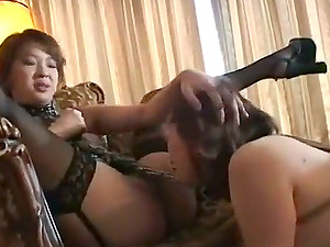 asian stunner tantalized and abased in domination & submission sub scene