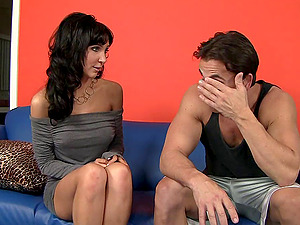 Diana Prince gives a rimjob and loves doggystyle pounding