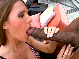 Horny Mummy Gets A Taste Of A Black Monster Hard-on