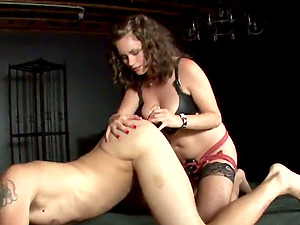Queen Starli likes female dominance practices like pegging with fake penises