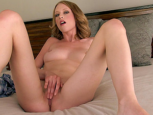 Anya Amsel in sexy porno act with cootchie and tits erotic allurement