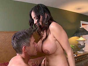 He tears her jeans apart just to get to her cock-squeezing mummy asshole