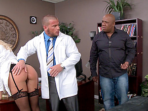 The doc has to penalize his nurse for a error she made