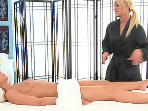Would you like to join that girly-girl rubdown flash?