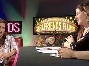 Gfs films introduces a ultra-cute talk flash along hot blondes