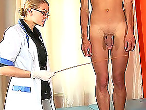 Lovely Russian ultra-cutie gets her labia fingerblasted by a gynecologist