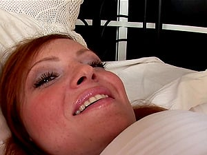 Lengthy haired honey has her rectal belly a severe invasion in a close up shoot