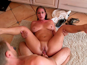 Yummy maid with a big bum gets fucked hard like never before
