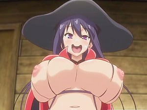 Big-chested anime porn witch rails
