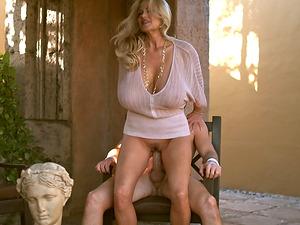 Gigantic boobies stunner Kelly Madison fucking xxx outdoors