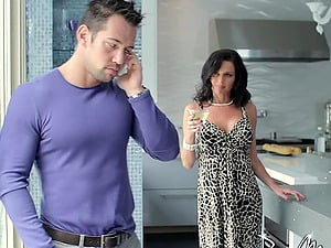 Fetching cougar princess and a fit stud pounding hard-core