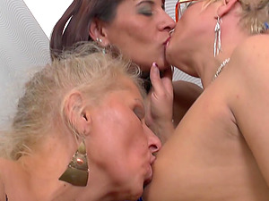 Amusing mature lesbians making love confirm. join