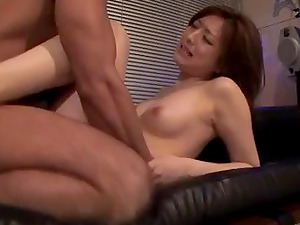 Gorgeous Oriental minx Ai gets to rail on pulsating boners