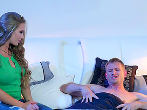 Nicole is an amazing chick whose love for the jizz-shotgun is just incredible!