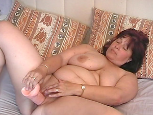 Mischievous mature BBW gets fisted and blows a massive member