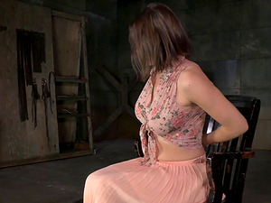 Huge-titted woman loves being fucked during a Sadism & masochism session