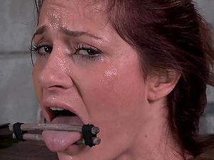 CiCi Rhodes indeed likes being face fucked by a black stallion