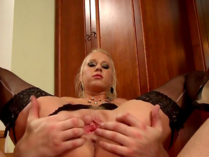 Horny woman Carla Cox loves the taste of man milk