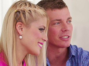 Insane Sweet Cat gets to have fun with two bisexual fellows